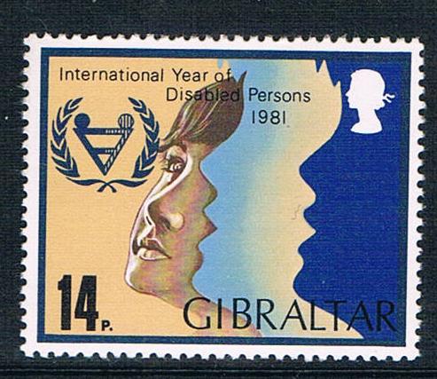 直布罗陀1981国际残疾人年全新图片