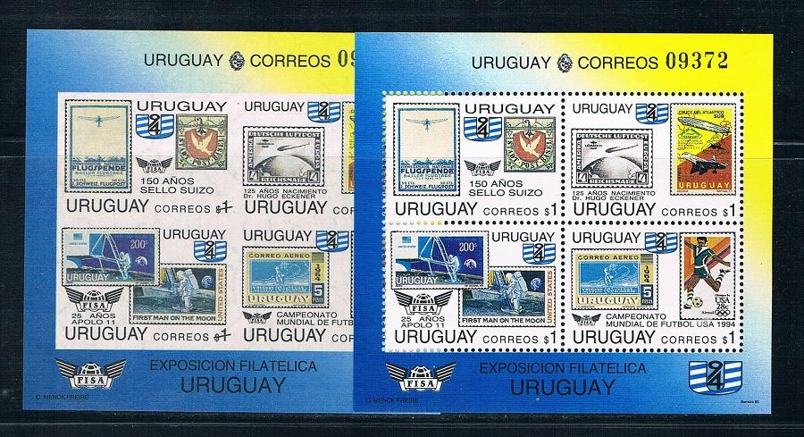 乌拉圭1994世界杯足球赛航天 中邮网[集邮\/钱币